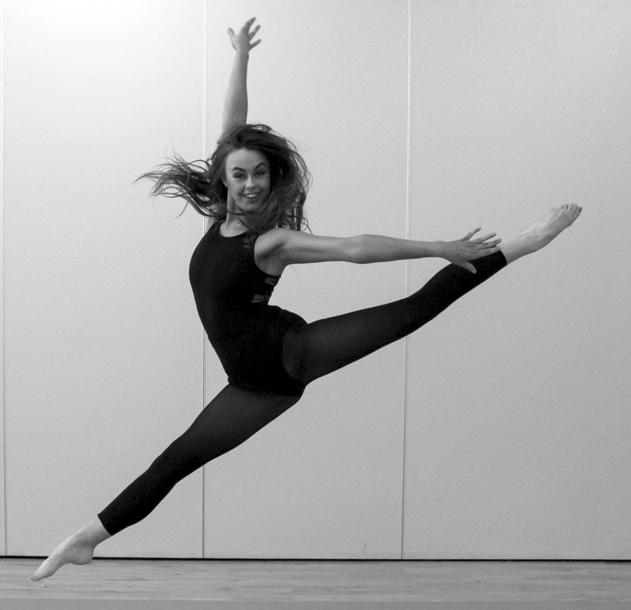 CSN' Aoife O'Neill, winner of the 'Best Dancer' Award 2017