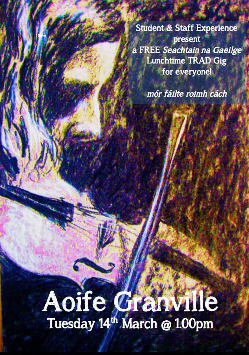 AOIFE GRANVILLE: Free Trad Music Gig for Seachtain na Gaeilge