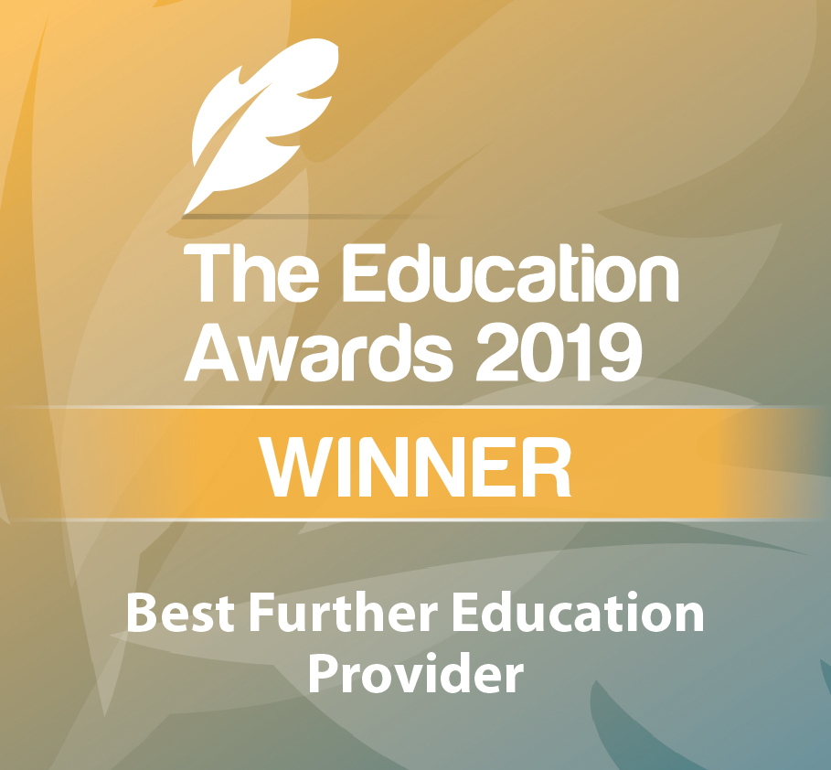 CSN College Winner of Award for Best Further Education Provider 2019