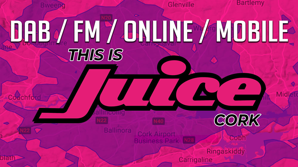 Juice Cork on 88.7 FM!