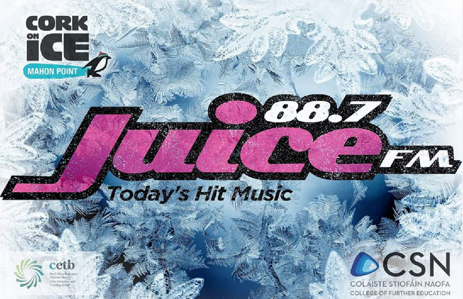 Juice FM Live from Cork on Ice at Mahon Point