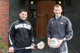 John O'Dwyer, Senior Tipperary Hurling Team, and Damien Cahalane Senior Cork Football and HurlingTeam
