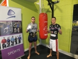 High Performance Student: Shane O'Neill, Thai Boxing ISKA Welter-weight Champion (left) and Darren O'Gorman