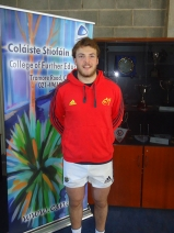 High Performance student Ryan Murphy, Irish under-20 and Munster Senior Development Squad