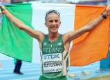 CSN Graduate and Olympic medallist Rob Heffernan.