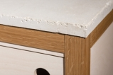 Detail of Credenza by Fergus O'Callaghan