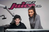 Juice FM Studio at CSN