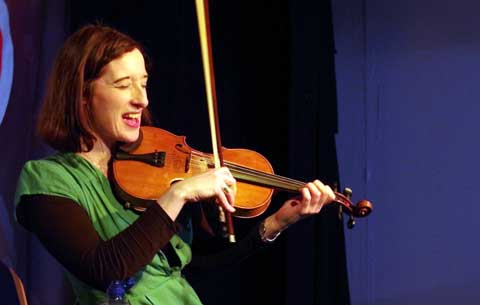 Aoife Granville performing in CSN