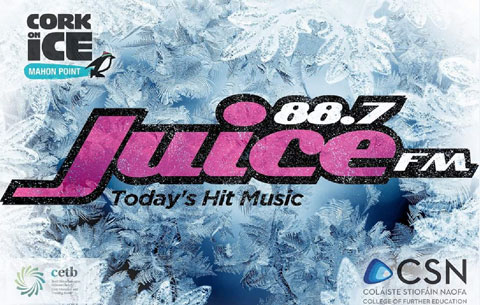 Tune in for the Juice FM Outside Broadcast live from Cork on Ice at Mahon Point!  Thursday 30th November 3-5pm   The Boost live with Dave and Cathal!