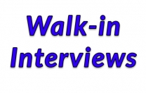Drop in for an interview