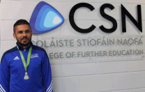 CSN very proud of our Business student Zain Ali Haidri All Ireland Badminton Champion