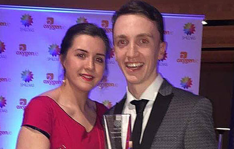 Congratulations CSN student Sean Ryan Radio on winning 'Best Radio DJ of the Year' at the Smedias (Irish Student Media Awards!) at the Aviva Stadium! Radio Broadcasting at CSN College of Further Education, Cork